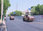 潍坊卧龙西街提升改造即将完工,预计6月底通车