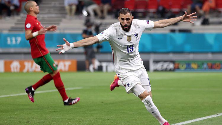 法國2-2葡萄牙攜手出線