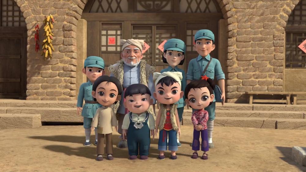 讲述红色故事:动画片《林海雪原》《延安童谣》暑期播映