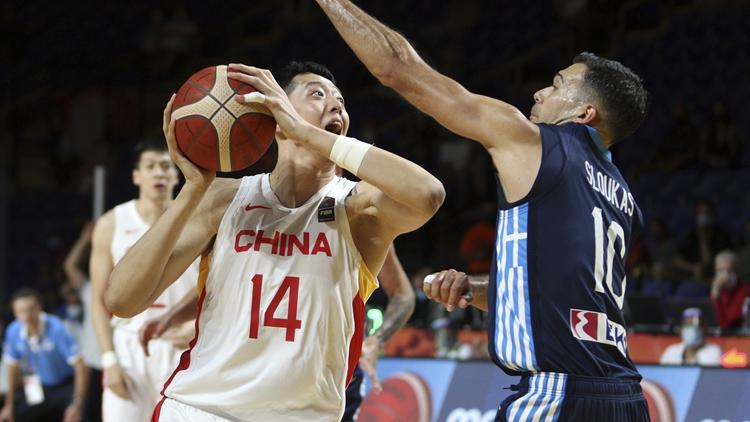 中國男籃不敵希臘無緣東京奧運