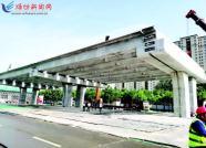 潍坊宝通街快速路全线饱和施工 春节前有望通车