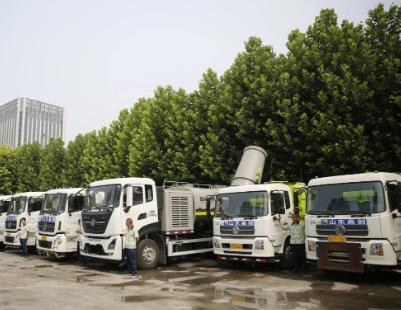 """潍坊高新区成立机扫大队,环卫作业开启""""机洗""""新模式!"""