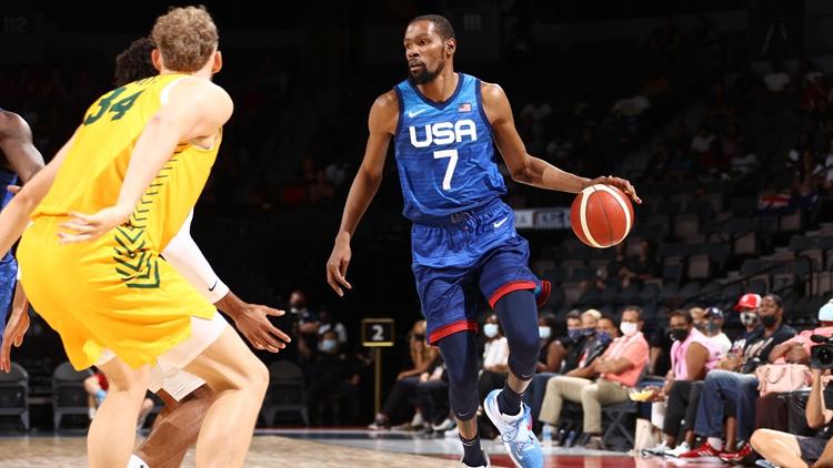 美國男籃熱身賽遭兩連敗