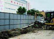 潍坊市区12座天桥计划今年完成 小商品城东侧过街天桥已动工