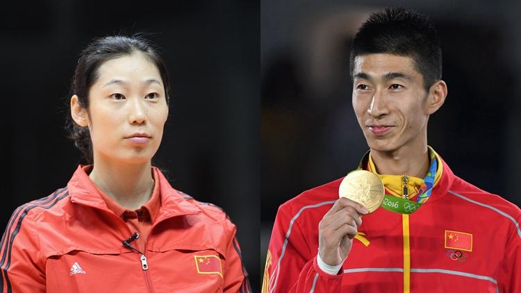 朱婷、赵帅担任中国奥运旗手