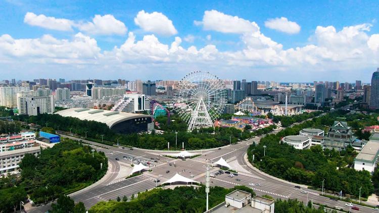 潍坊:我对你的爱就是蓝天白云