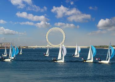 十四运帆船比赛八个项目的资格赛及决赛落户潍坊滨海