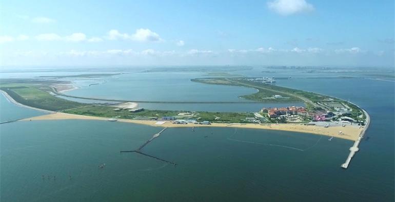 天蓝海碧美不胜收 跟随镜头来看潍坊滨海蓝