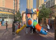 市北区今年新建、更新公共健身场所181处 预计9月底前全部投用