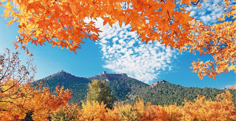 美到爆!来赏青州云驼风景区最美风光