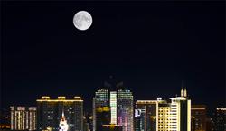 一见倾心,潍坊的赏月大片来了