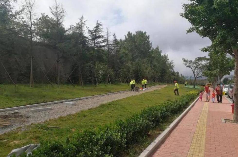 青岛这里将新增一处口袋公园 预计11月底竣工开园