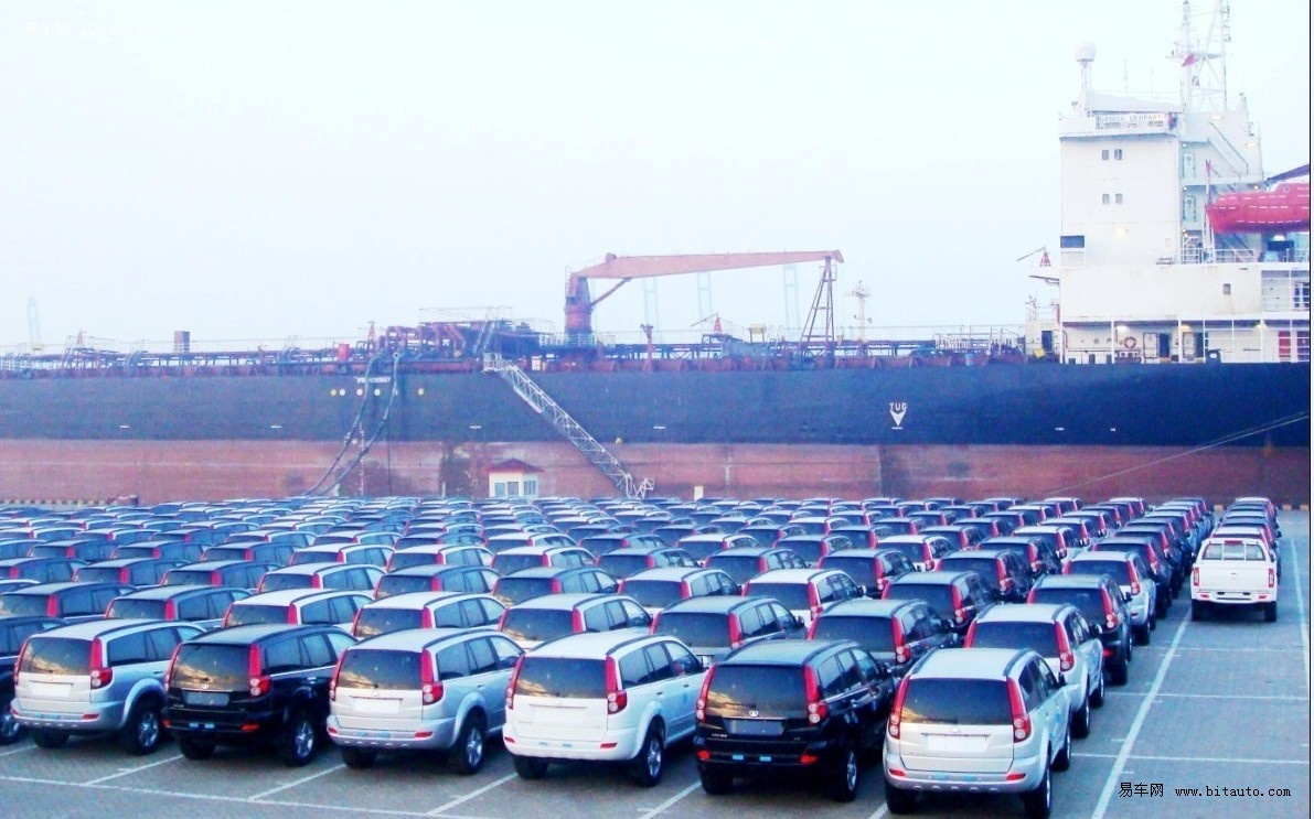 中國汽車出口實現逆勢增長