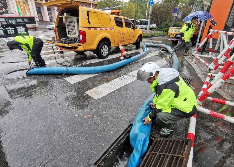 聊城城区648名防汛队员国庆假期坚守岗位保安全