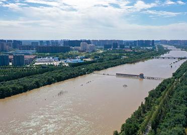 三干流19座拦河闸全部吊空,德州干流及支流河道平稳运行