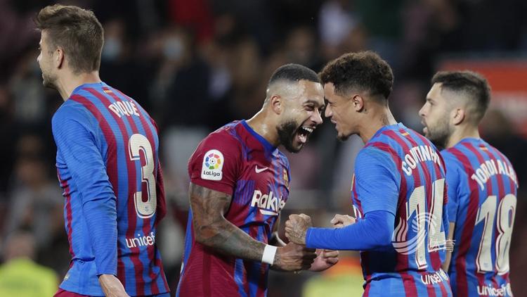 德帕伊造两球 巴塞罗那3-1逆转瓦伦西亚