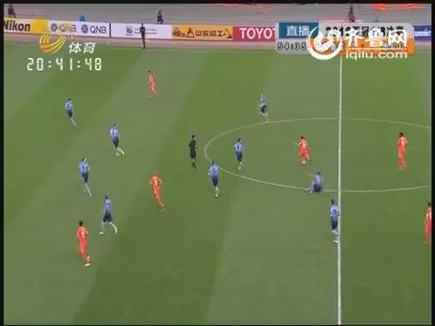 2016亚冠1/8决赛:山东鲁能VS悉尼FC(下半场)