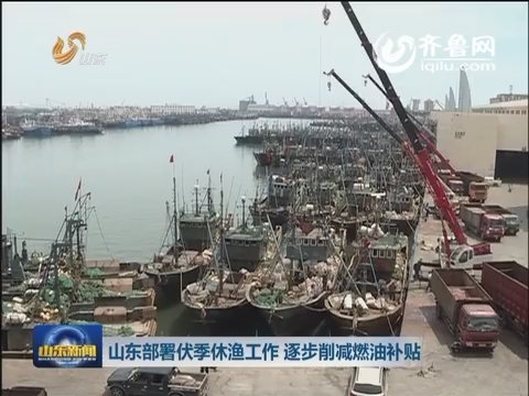 山东部署伏季休渔工作 逐步削减燃油补贴