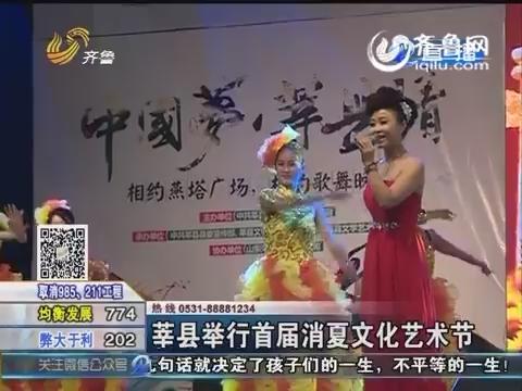 莘县举行首届消夏文化艺术节