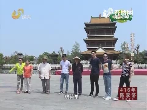 20160707《明星宝贝》:走进枣庄台儿庄古城