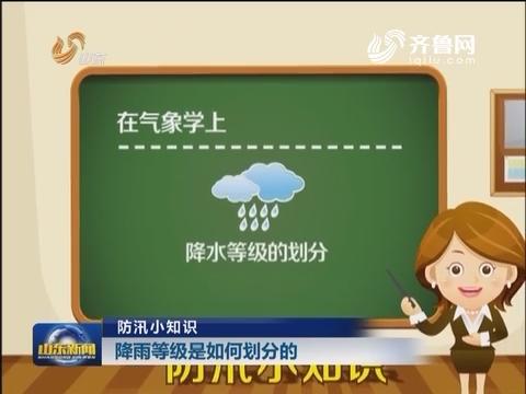 防汛小知识:降雨等级是如何划分的