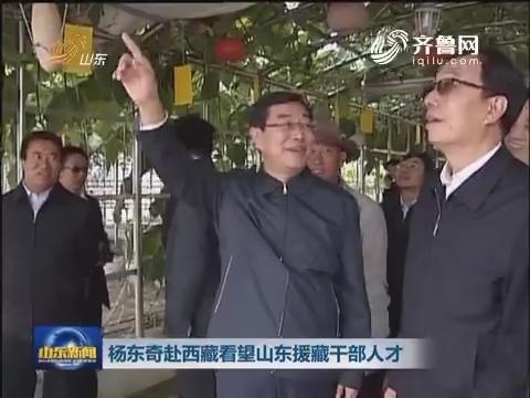 杨东奇赴西藏看望山东援藏干部人才