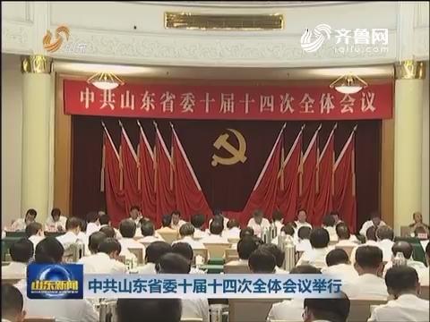 中共山东省委十届十四次全体会议举行