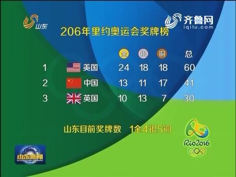 【关注里约奥运会】奥运奖牌榜及部分精彩赛事预告