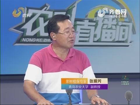 20160829《农科直播间》:果树植保专家张振芳