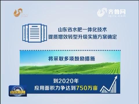 """山东:""""水肥一体化技术"""" 助推传统农业向生态高效农业转变"""