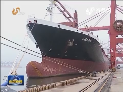 中国——澳大利亚最快集装箱航线开通