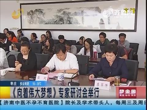 济南:《向着伟大梦想》专家研讨会举行