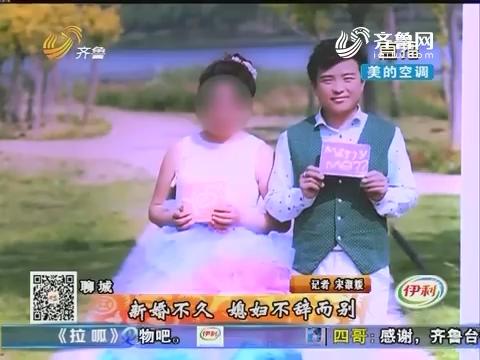 聊城:新婚不久 媳妇不辞而别