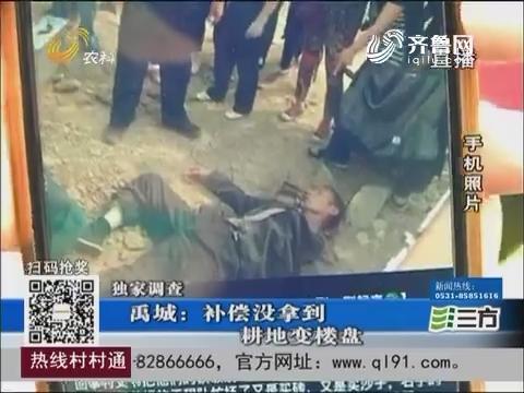 【独家调查】禹城:补偿没拿到 耕地变楼盘