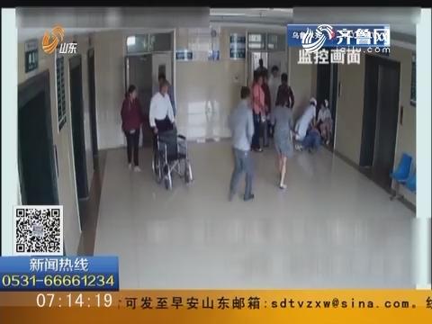 烟台栖霞:市民突发脑出血 医护人员上演生死急救