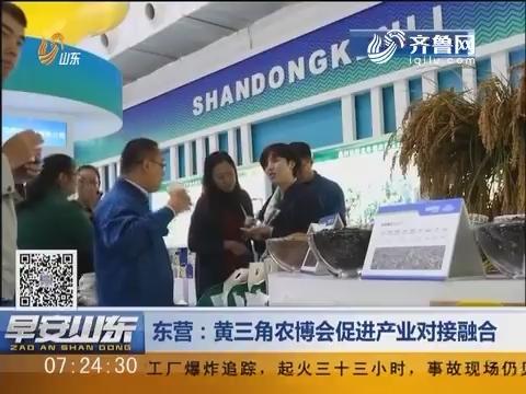 东营:黄三角农博会促进产业对接融合