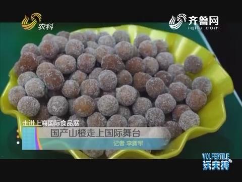 走进上海国际食品展 国产山楂走上国际舞台