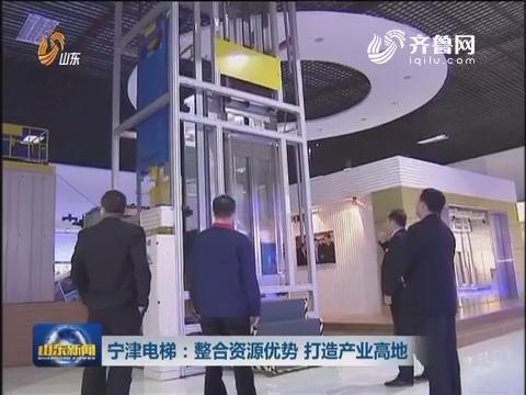 宁津电梯:整合资源优势 打造产业高地