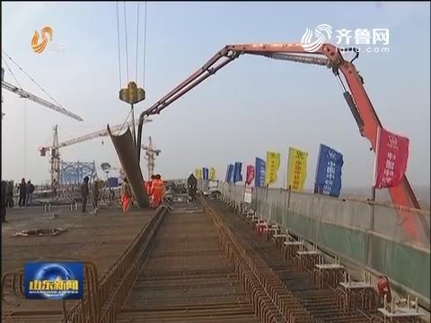 """山东:建设""""三横五纵""""铁路网 有望市市通高铁"""