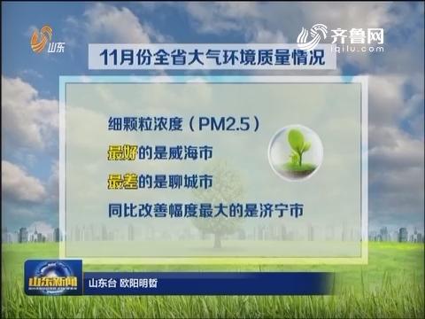"""11月山东省""""气质""""排名发布 济宁提升最大"""