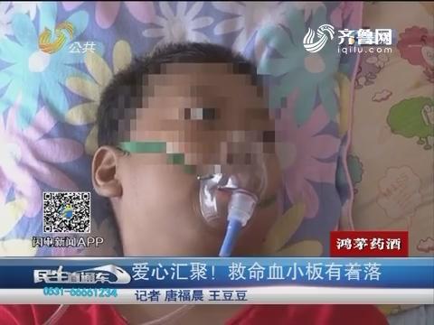 济南:爱心汇聚!救命血小板有着落