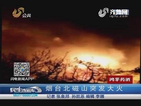 烟台北磁山突发大火