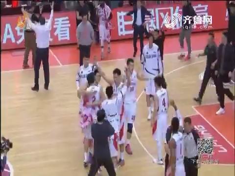 CBA:山东高速险胜青岛 跻身季后赛