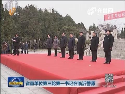 山东省直单位第三轮第一书记在临沂誓师