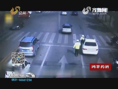 网事新语:司机强行冲卡拖行民警?