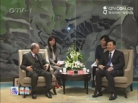 李群会见日本客人