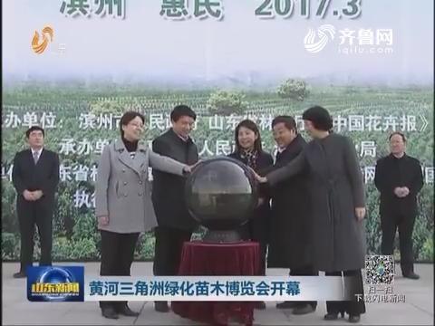 黄河三角洲绿化苗木博览会开幕