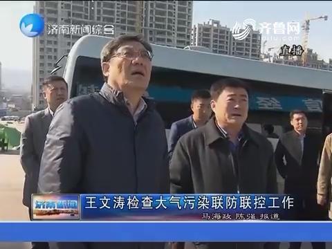 王文涛检查大气污染联防联控工作