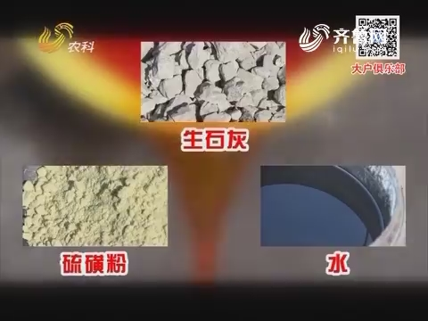 石硫合剂的配制与使用