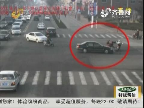 烟台:开车致人死亡 男子开车跑了